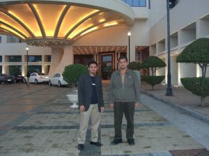 Ketika bersama ke GTLtec di Doha pada Jan 2007