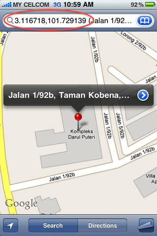 Get Place Coordinate From Iphone Google Maps My Digital